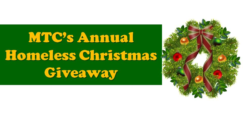 Homeless Christmas Giveaway